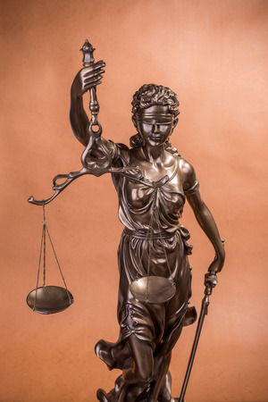 solicitor: Statue of justice