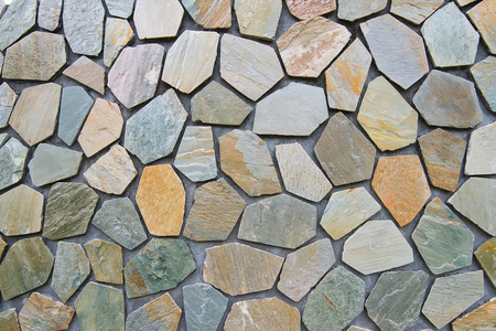 rustic: hand made rustic rock wall