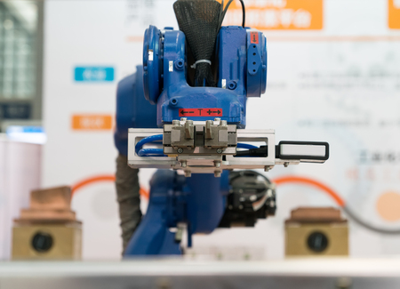 component: Controler of robotic hand Stock Photo