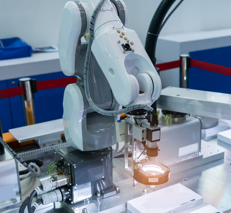 Controler of robotic hand Foto de archivo