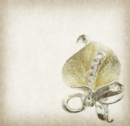 pendent: Vintage background with flower brooches