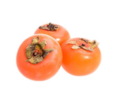 ripe: ripe persimmons Stock Photo