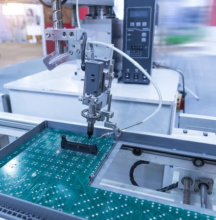 kinescope: Robot Welding Stock Photo