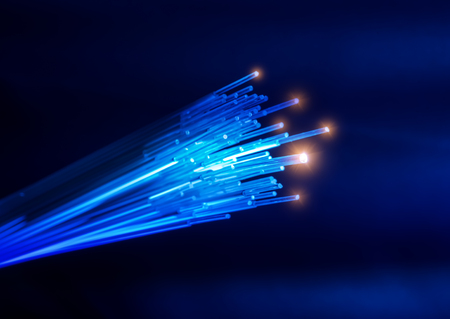 cavo di rete in fibra ottica
