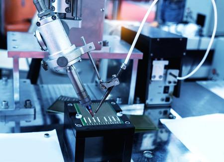 Robot Welding Stock Photo