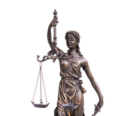 punishing: Statue of justice,law concept