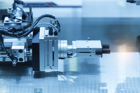 industrial metalworking cutting process by milling cutter