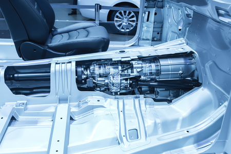 Automotive transmission gearbox 스톡 콘텐츠