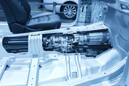 Automotive transmission gearbox Standard-Bild