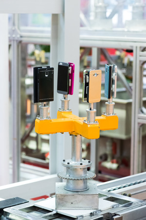 Preview Save to a lightbox  Find Similar Images  Share  Edit Stock Photo: Factory for production of mobile phones