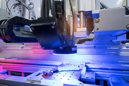 전화 공장 로봇 머신 비전 시스템