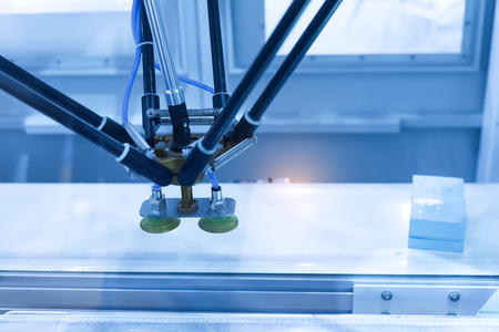 mano robotica: Conveyor Tracking Controler of robotic hand.