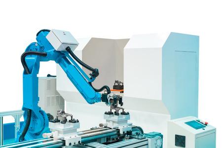 transistor: Controler de mano robótica