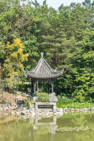 chinese ancient pavilion