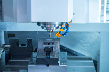 milling center: Details of CNC machine tools