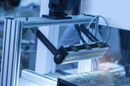 Robotic machine vision system