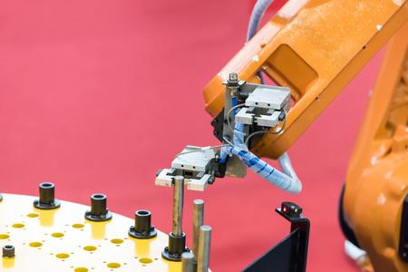 Controler of robotic hand Stock Photo