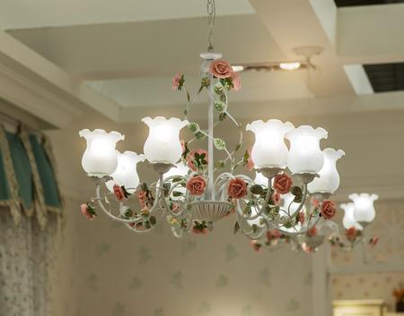chandelier background: elegant chandelier