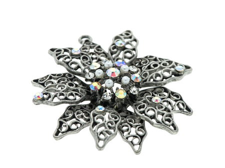 The beauty diamond pendant Stock Photo