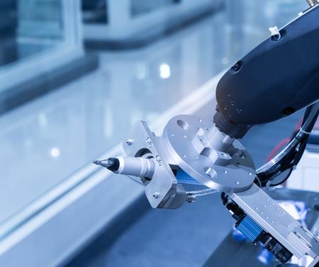 Controler of robotic hand 写真素材