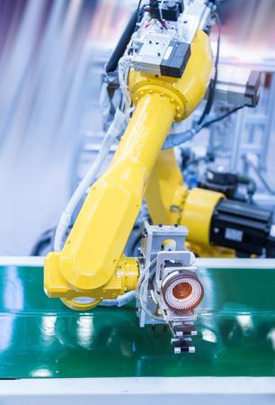 Système de vision artificielle robotique en usine Banque d'images - 94888385