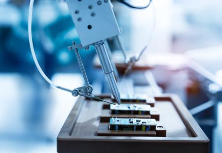 punte per saldatori di saldatura di fabbricazione automatizzata e scheda di assemblaggio