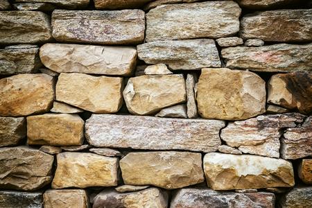 rustic rock wall texture Banque d'images - 111068427