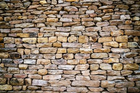 rustic rock wall texture Banque d'images - 111392558