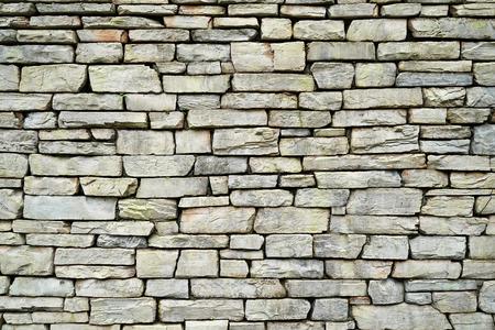 rustic rock wall texture Standard-Bild