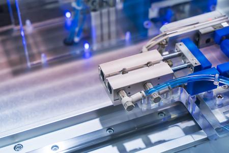 robotic pneumatic input to robot handle grip handle