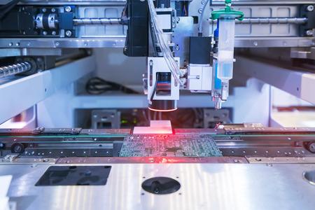 Sistema de cámara con sensor de visión robótico en intellegence factory