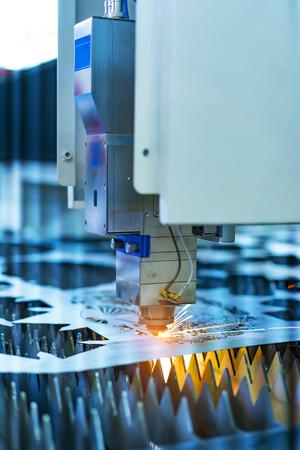 laser cutting machine controller 免版税图像