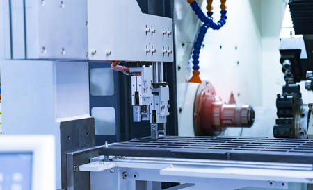 industrial CNC machine for working