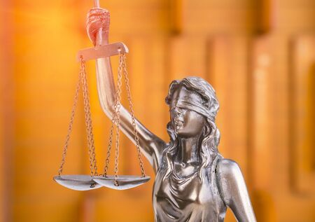 Statue of justice,law concept