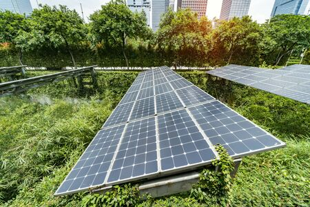 Panels of solar batteries,Environmentally safe renewable energy