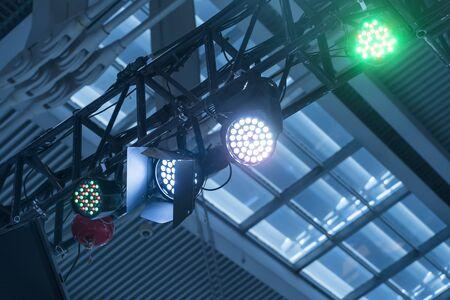 LED Light on mall roof
