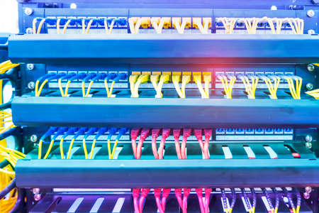 network switching hub LAN system communication.