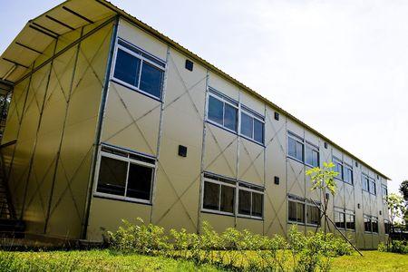 prefabricated buildings: C�mara modular