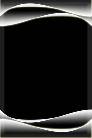 photo album page: Elegant curve abstract background with empty space for text