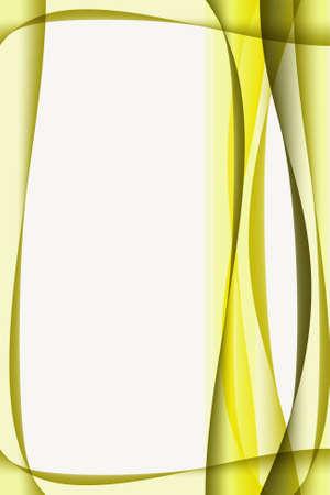 photo album page: Curva de fondo del marco abstracto con el espacio vac�o para el texto