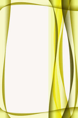 front page: Curve frame abstract background with empty space for your text
