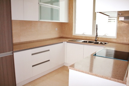 Kitchen cabinets with modern conceptual design Stock Photo - 12540539