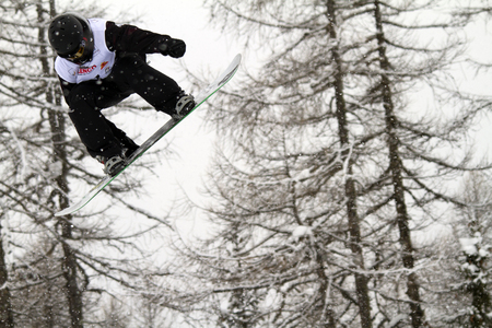 moguls: FIS Junior World Championships 2014- Halfpipe -in chiesa valmalenco italy - wed 26 mar 2014 - billtoft ludvig (swe)