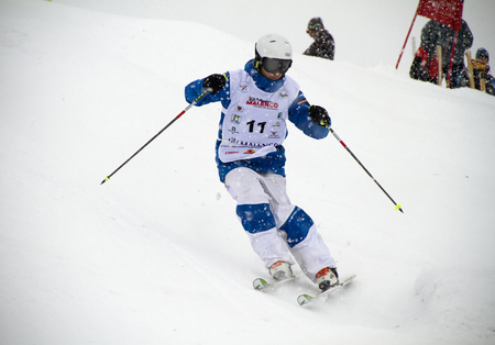 moguls: Fis freestyle junior world championships 2014  - in Chiesa Valmalenco Italy - Wed 26 mar 2014 -Escobar Jules (fra)