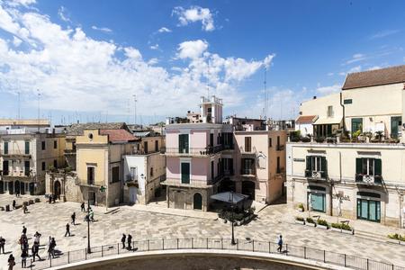 Bitonto, Italy - May 05, 2017: view of principal square in Bitonto, Puglia, Italy Archivio Fotografico - 105183831