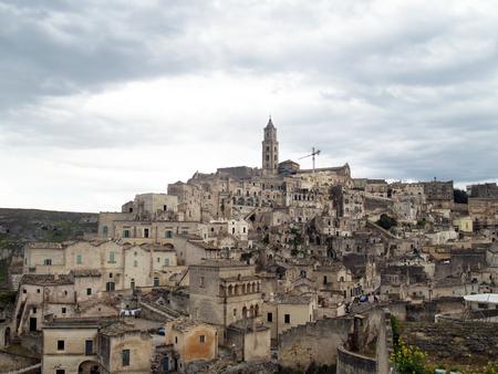 The village of Matera in a Sud of Italy Archivio Fotografico - 118444367