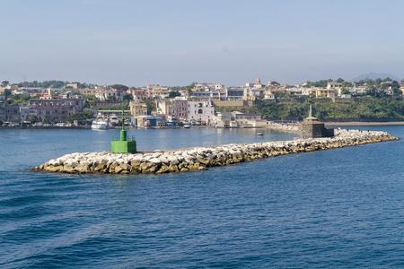 island of procida, near naples.