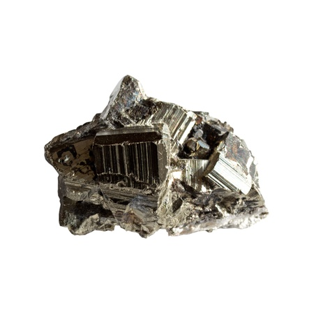 sphalerite: Sphalerite mineral on a white background