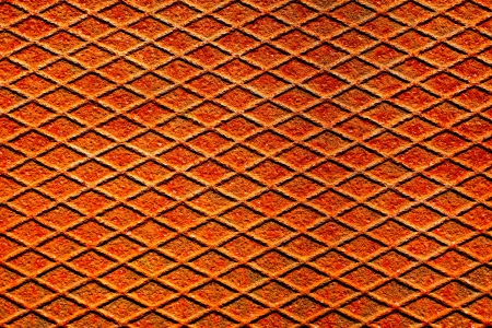 netty: A rusty metal surface with texture and pattern