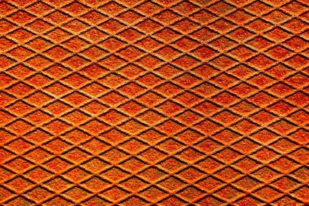 netty: Una superficie de metal oxidado con textura y el patr�n